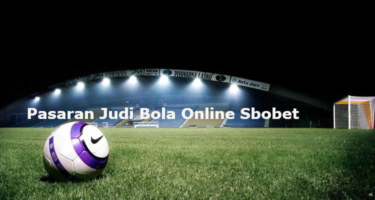 pasaran judi bola online sbobet
